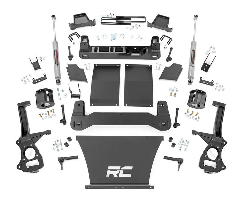 4in GM Suspension Lift Kit (19-20 GM 1500 TRAILBOSS / AT4 PU 4WD)
