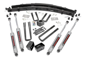4in Dodge Suspension Lift Kit for 1970-1974 Dodge Dana 60 W Series Pickup 4WD