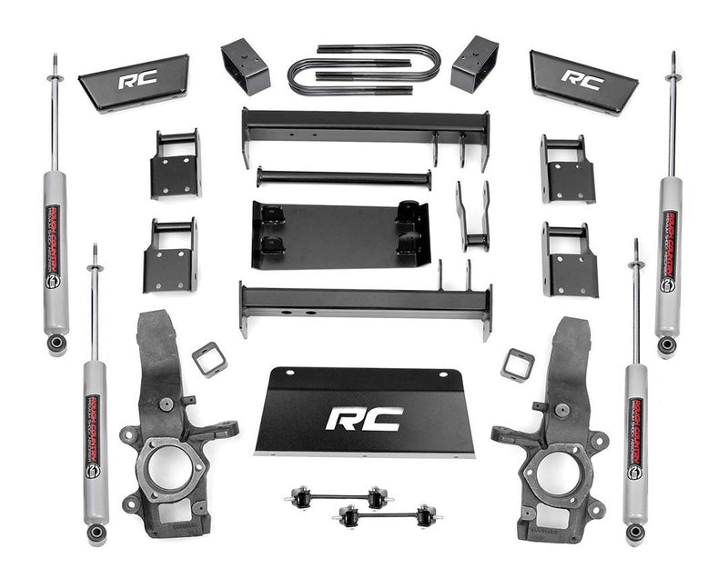 4in Ford Suspension Lift Kit for 1997-2003 Ford F-150 4WD