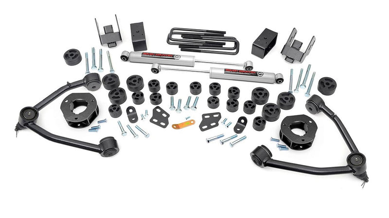 4.75in GM Combo Lift Kit for 2007-2013 Chevy GMC Silverado Sierra 1500 2WD