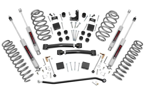 4in Jeep X-Series Suspension Lift System for 1999-2004 Jeep Grand Cherokee 4WD
