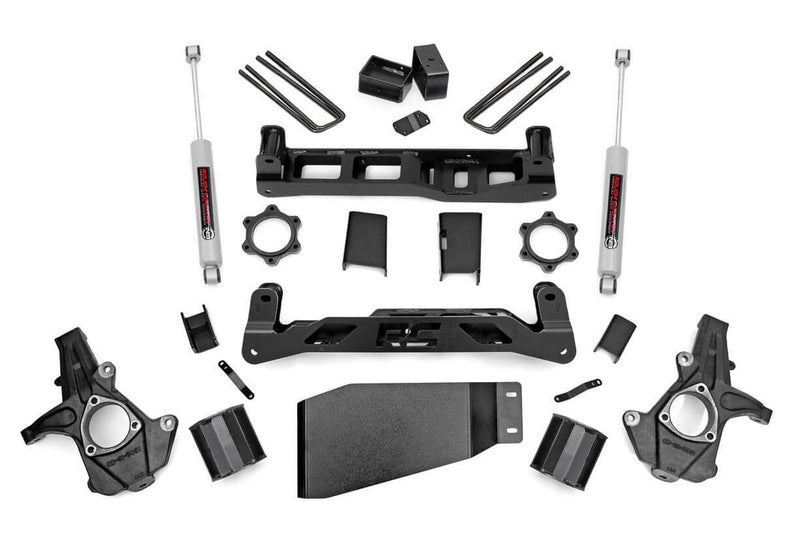 5in GM Suspension Lift Kit for 2007-2013 GMC Chevy Sierra Silverado 1500 4WD