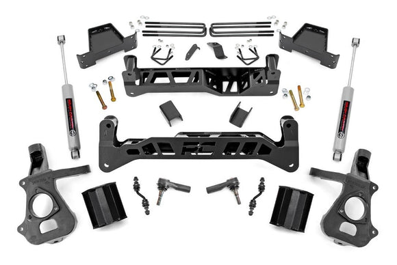 7in GM Suspension Lift Kit for 2014-2018 GMC Chevy Sierra Silverado 1500 2WD