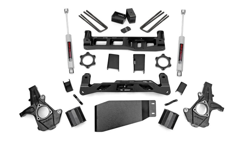 5in GM Suspension Lift Kit (07-13 1500 PU 4WD)