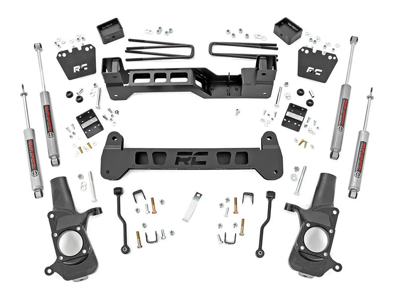 6in GM Suspension Lift Kit for 2001-2010 GMC Chevy Sierra Silverado 2WD