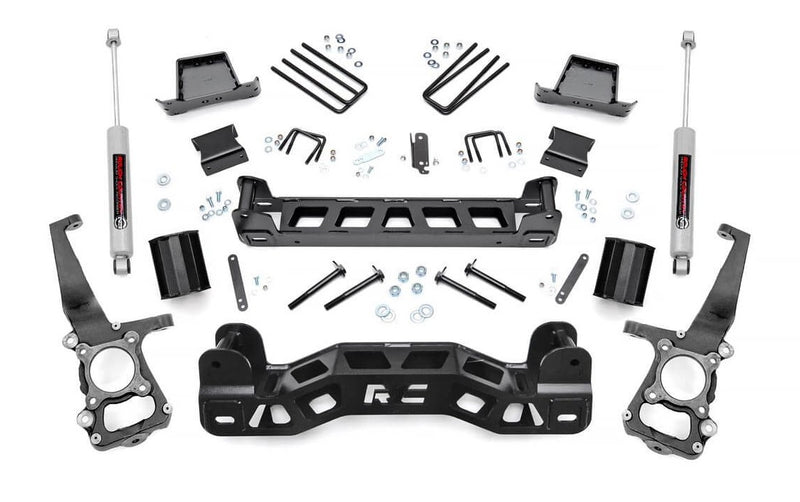 6in Ford Suspension Lift Kit for 2011-2014 Ford F-150 2WD