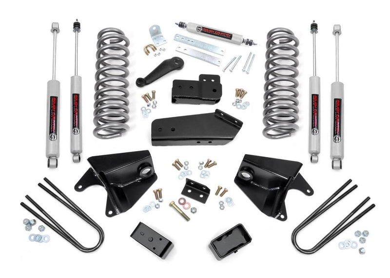 4in Ford Suspension Lift Kit for 1980-1996 Ford Bronco 4WD