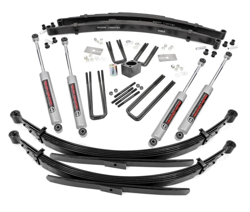 4in Dodge Suspension Lift System (Dana 60) for 1974-1977 Dodge W Series Pickup 4WD