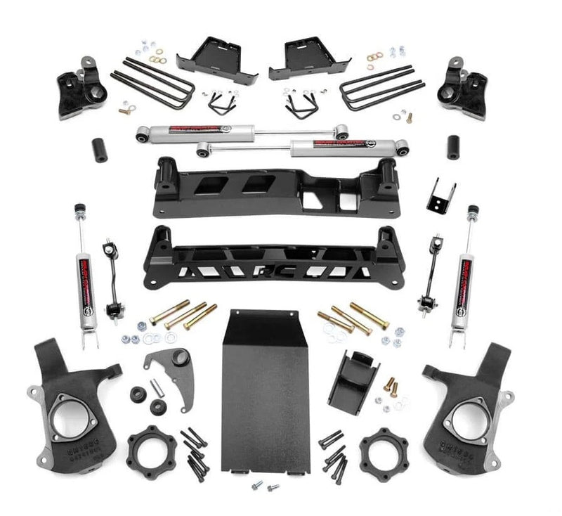 4in GM NTD Suspension Lift Kit (99-06 1500 PU)