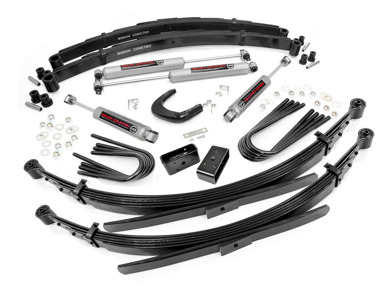 6in GM Suspension Lift System (56in Rear Springs) for 1988-1991 Chevy GMC Pickup Suburban Blazer Jimmy 4WD
