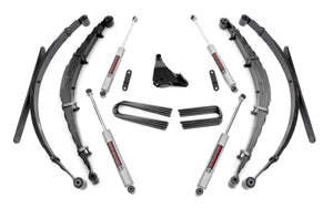 4in Ford Suspension Lift System for 1999-2004 Ford F-250 F-350 Super Duty 4WD