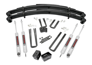 4in Ford Suspension Lift Kit for 1977-1979 Ford F-250 4WD
