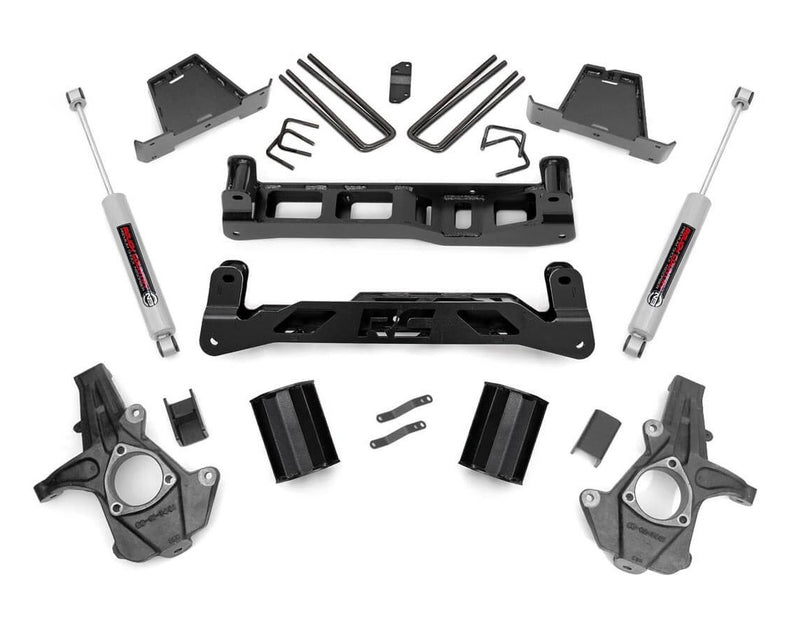 7.5in GM Suspension Lift Kit for 2007-2013 GMC Chevy Sierra Silverado 1500 2WD