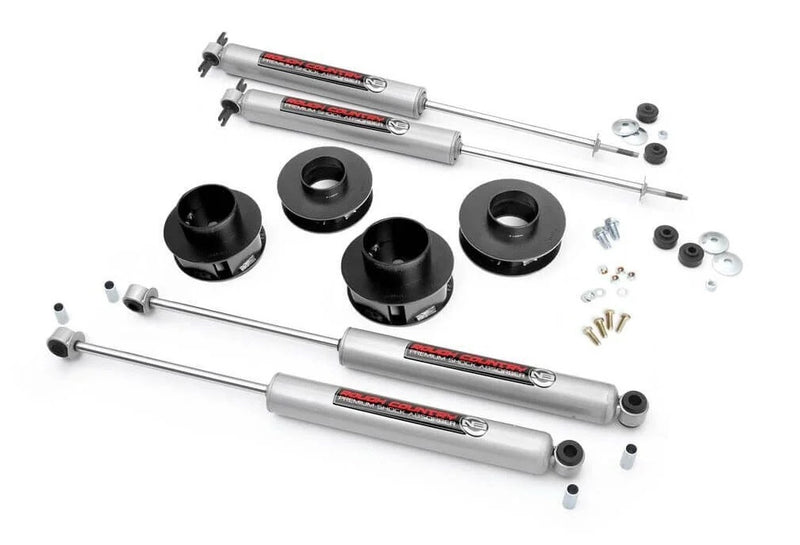 2in Jeep Suspension Lift Kit for 1999-2004 Jeep Grand Cherokee 4WD