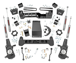 6in GM Suspension Lift Kit for 2001-2010 GMC Chevy Sierra Silverado 2500HD 4WD