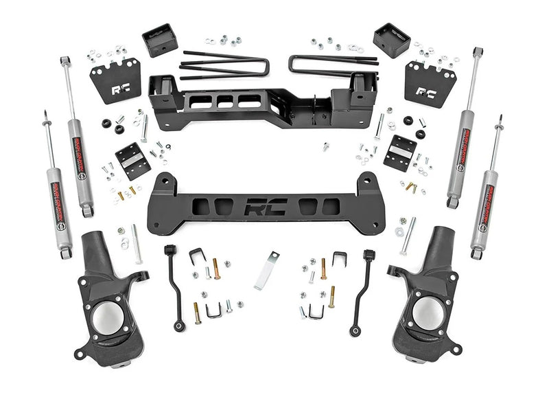 6in GM Suspension Lift Kit (01-10 2500HD / 3500HD)
