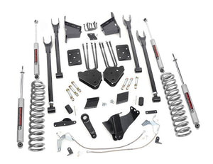 6in Ford Suspension Lift Kit | 4-Link (15-16 F-250 4WD)