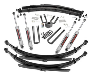 4in Dodge Suspension Lift System (Dana 60) for 1970-1974 Dodge W Series Pickup 4WD