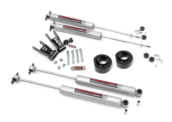1.5in Jeep Suspension Lift Kit for 1984-2001 Jeep Cherokee XJ 2WD 4WD