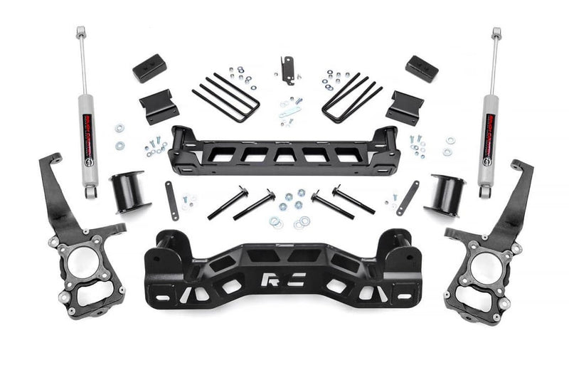 4in Ford Suspension Lift Kit for 2011-2014 Ford F-150 2WD