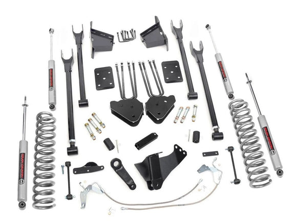 8in Ford Suspension Lift Kit | 4-Link (08-10 F-250/350 4WD)