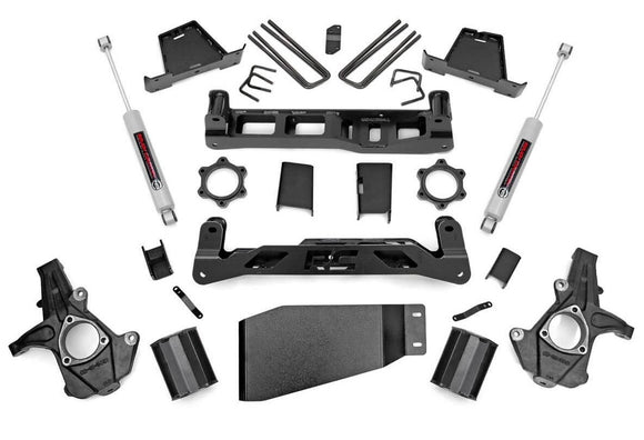 7.5in GM Suspension Lift Kit for 2007-2013 GMC Chevy Sierra Silverado 1500 4WD