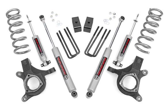 4.5in GM Suspension Lift Kit for 1999-2007 Chevy GMC Silverado Sierra 1500 2WD