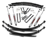 4in Dodge Suspension Lift System (Dana 60) for 1977-1993 Dodge W Series Pickup 4WD