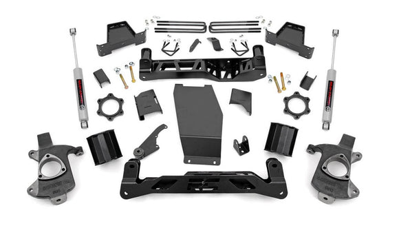 6in GM Suspension Lift Kit (14-18 1500 PU 4WD)