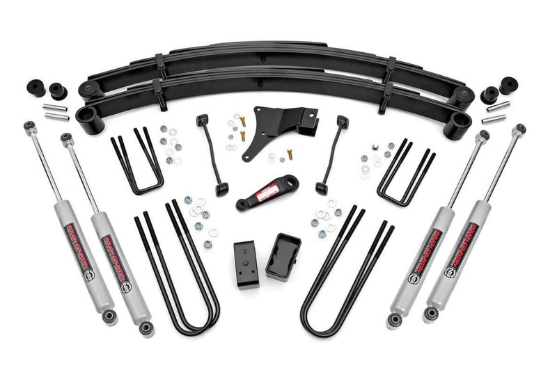 6in Ford Suspension Lift Kit for 1999-1999 Ford F-250 F-350 Super Duty 4WD (Built Before 3-1-1999)