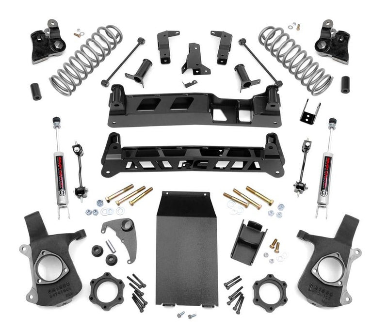 6in GM NTD Suspension Lift Kit for 2000-2006 GMC Chevy Avalanche Suburban Yukon XL 1500