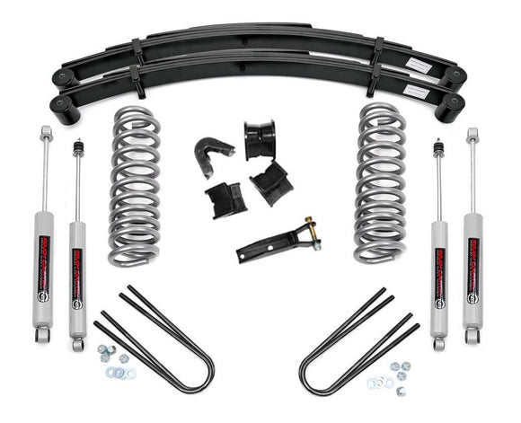 4in Ford Suspension Lift System for 1977-1979 Ford F-100 F-150 4WD