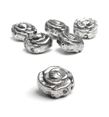 332 Metallperle Rose 16 mm