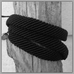 Pura Vida Braided Black