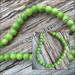 Lime Perle 6 mm