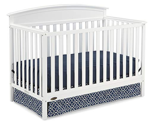 5-in-1 Convertible Crib White
