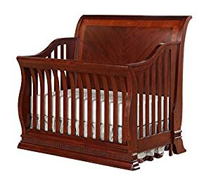 Portland 4 in 1 Convertible Crib Cherry