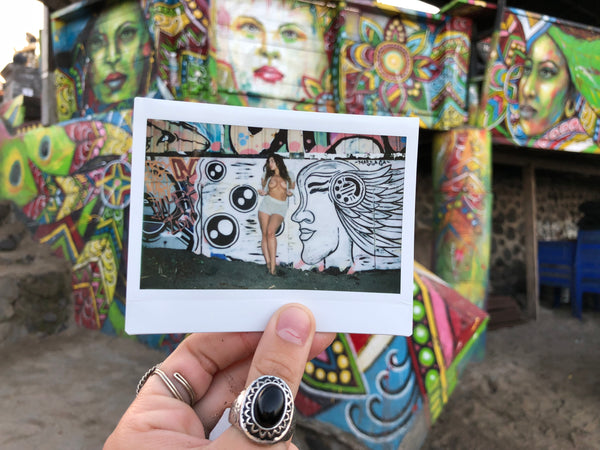 """Canggu Street Art"" (1 of 1) — Signed Polaroid"