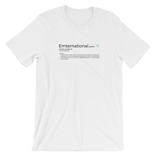 Emternational — Short-Sleeve Unisex T-Shirt