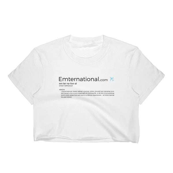 Emternational — Women's Crop Top