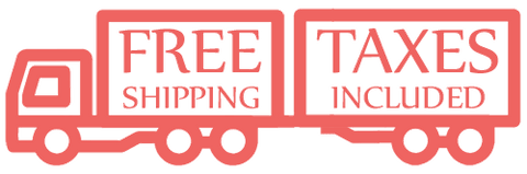 Free shipping! Taxes included!