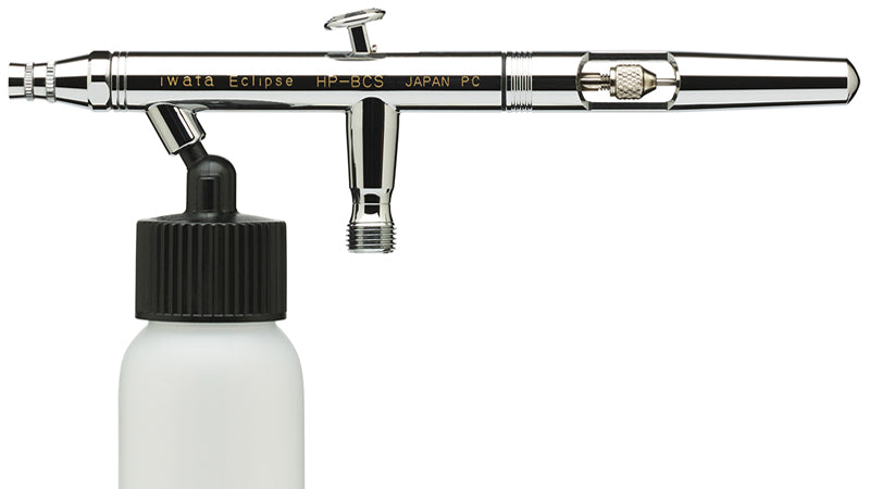 Red Fracture - What you need to start airbrushing - An airbrush - Iwata HP-BCS siphon feed airbrush