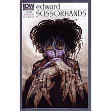 Load image into Gallery viewer, Red Fracture - Sketch Cover - Edward Scissorhands - Tim Burton
