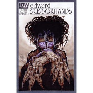 Red Fracture - Sketch Cover - Edward Scissorhands - Tim Burton