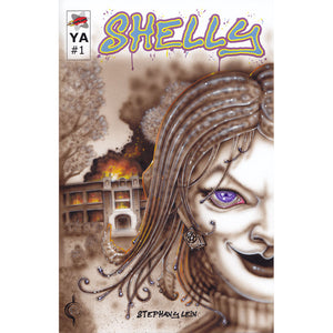 Red Fracture - Sketch Cover - Shelly #1 by Stephany Lein - High School and Chthulu in one. What more could a girl want?
