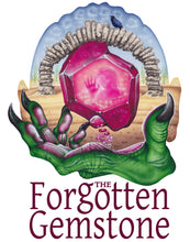 Load image into Gallery viewer, Red Fracture - The Forgetten Gemstone, a xiinisi trilogy by Kit Daven, book art, promo art, airbrush