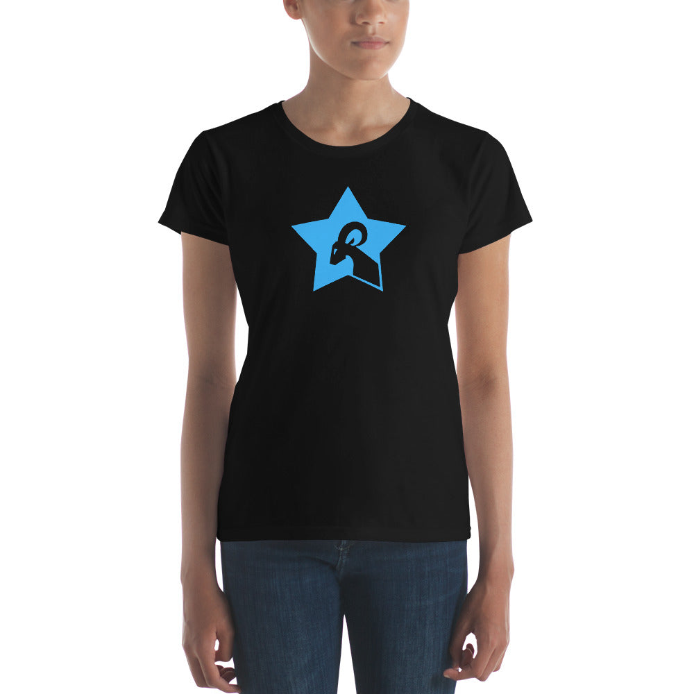 RAMSTAR Game Logo - Ladies Fitted Tee -