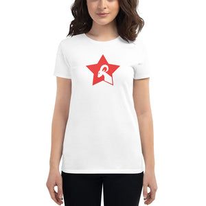 "RAMSTAR Games Logo - Ladies Fitted Tee - ""The Sean"""