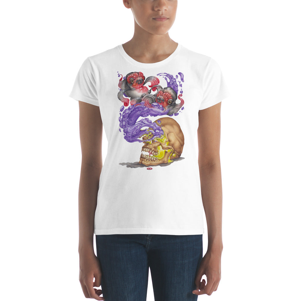 Nosferatu Dreams of Koi - Ladies Classic Fit Tee