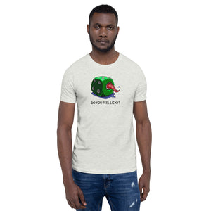 Giant Tongue Dice T-shirt - Monster Dice! by RAMSTAR Games